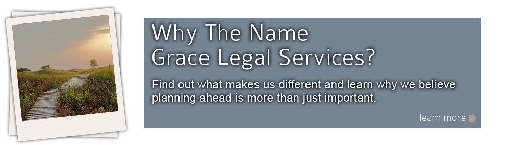 Why The Name Grace Legal Services?